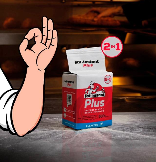 saf-instant plus yeast